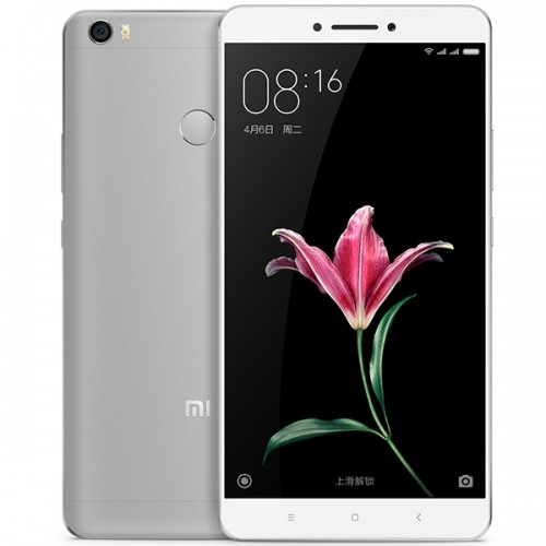 XIAOMI MI MAX 3GB 32GB Snapdragon 650 6,44 Zoll 4850mAh Touch ID Grau