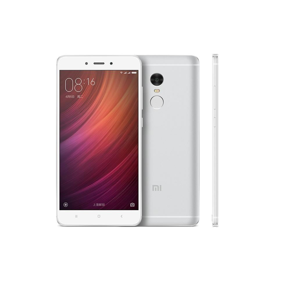 Xiaomi Redmi Note 4 Smartphone 5.5 Inch MTK Helio X20 3GB 32GB Silver