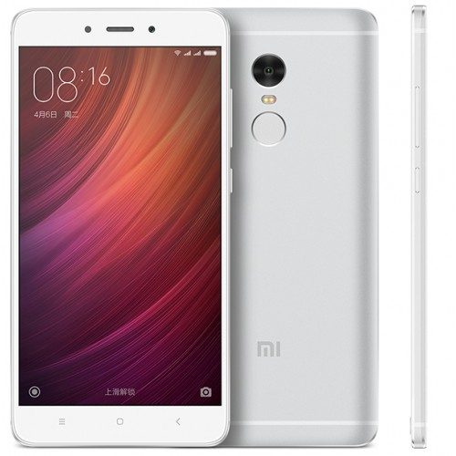 Xiaomi Redmi Note 4 5.5 Inch MTK Helio X20 3GB 64GB MIUI Global Silver