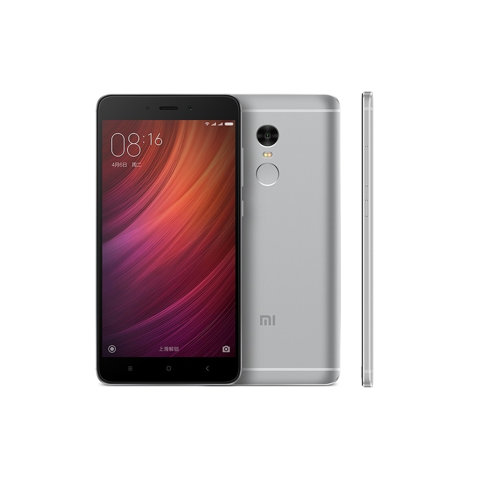Xiaomi Redmi Note 4 Smartphone 5.5 Inch MTK Helio X20 3GB 64GB Gray