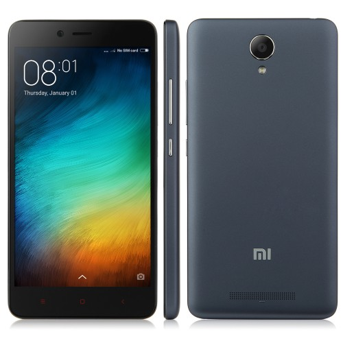 XIAOMI Redmi Note 2 Smartphone 5,5 Zoll 2GB 16GB MIUI Global Schwarz