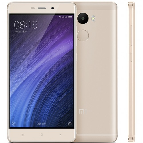 Xiaomi Redmi 4 Smartphone Snapdragon 625 3GB 32GB 5.0 Zoll Touch ID Golden