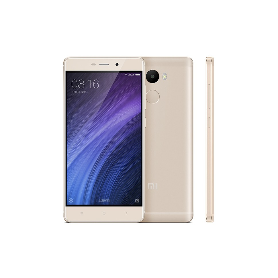 Xiaomi Redmi 4 Smartphone Snapdragon 625 3GB 32GB 5.0 Inch Touch ID Gold