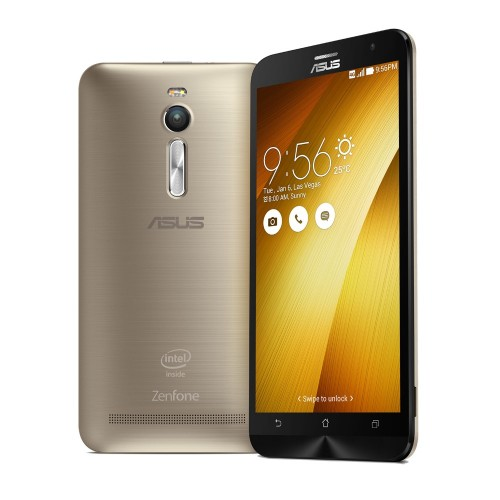 ASUS Zenfone 2 Intel Atom Z3580 2,3 GHz 5,5 Zoll 4GB 64GB Golden