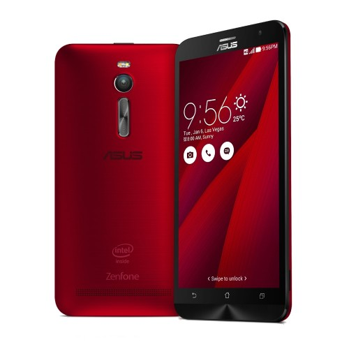 ASUS Zenfone 2 Intel Atom Z3560 1.8 GHz 5.5 inch 2GB 16GB Red