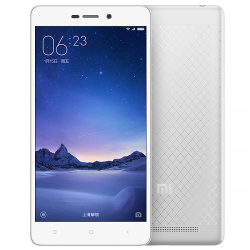XIAOMI Redmi 3 Smartphone 4100mAh 4G LTE 5,0 Zoll 2GB 16GB Silber