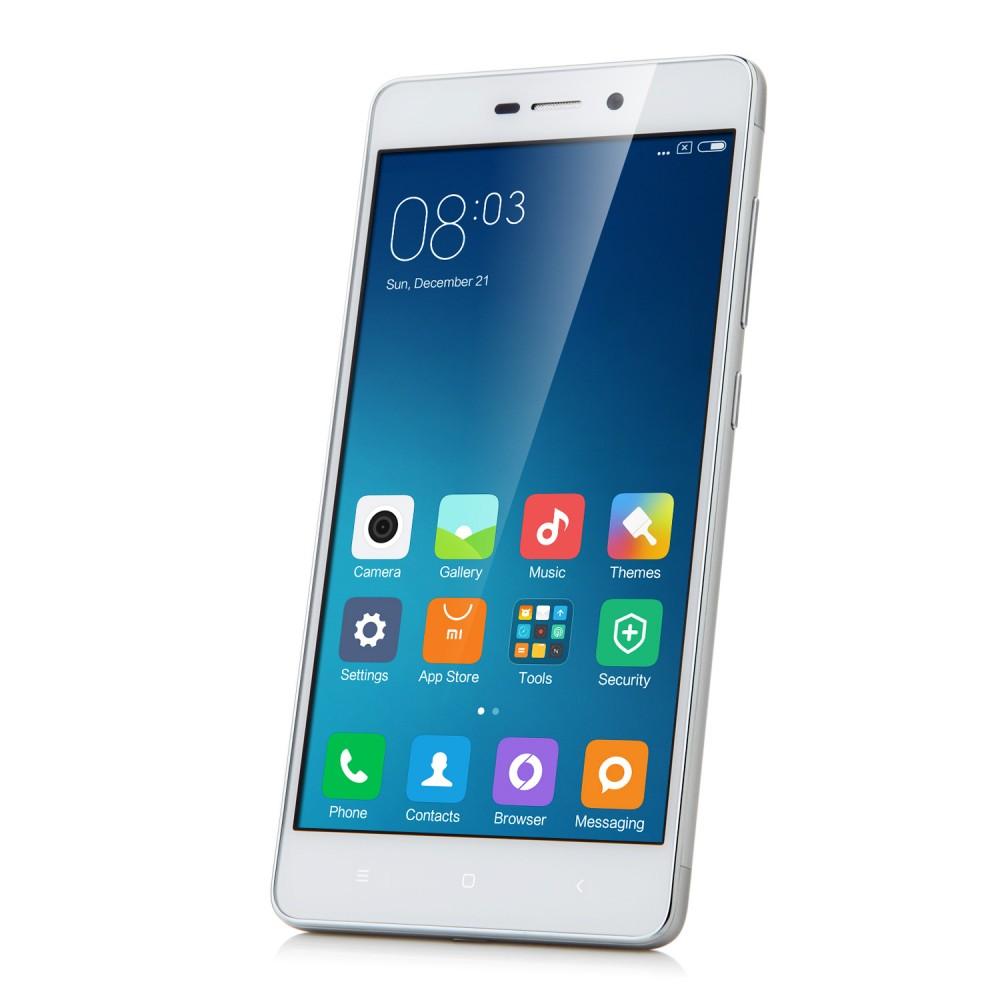 Xiaomi Redmi 3 Smartphone 4100mah 4g Lte 50 Inch 2gb 16gb Silver Note Ram 2 16 Gb