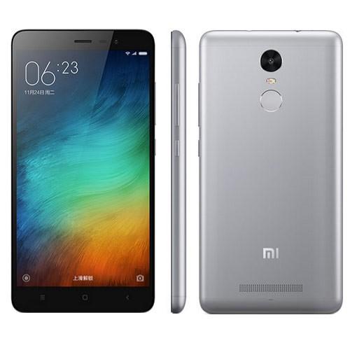 XIAOMI Redmi Note 3 Touch ID 3GB 32GB 5,5 Zoll MTK6795 4000mAh Grau
