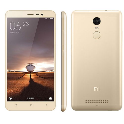 XIAOMI Redmi Note 3 Touch ID 3GB 32GB 5,5 Zoll MTK6795 4000mAh Golden